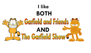 I like both of Garfield's cartoon shows! by BobClampettFan164