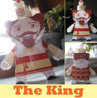 The Burger King paper toy by Archer-1