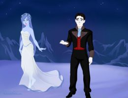 Corpse Bride by M-Mannering