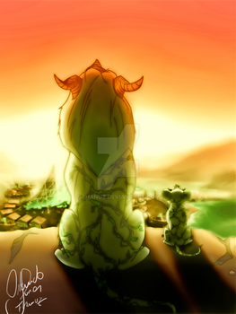 TendrilFasa Sunrise by Fhanuz