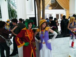 Sage Kyle and Princess Kenny: Katsucon 20 by grantjoey45