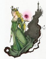 The Enchantress by Kitty-Grimm