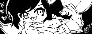 Ahri chibi - League Of Legends - Miiverse by Galacxie84