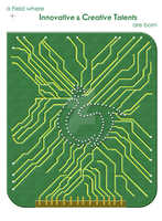 ICT Poster v1 - Circuit Board by jasaholic
