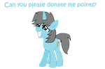 Please donate me points! by Lustmove-The-Hero