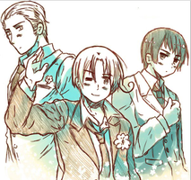 Axis of Hetalia by Avril581