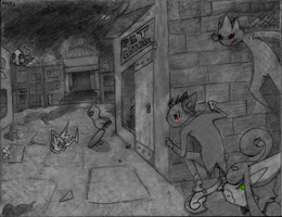 PS: Sneaking In (2013) by PizzaPotatoNBacon