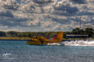 HDR Waterbomber 2 by Nebey