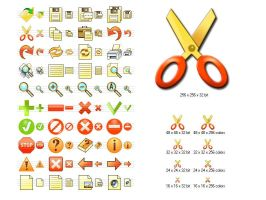 Fire Toolbar Icons by Ikonod