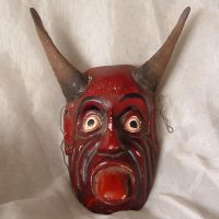 Red Devil Mask 1 by Eris-stock