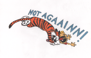Calvin and Hobbes LOVE by Hotaru-Icerain