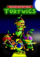 Teenage Mutant Ninja Turtwigs by UncleLaurence