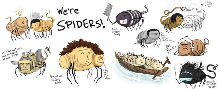 RS: We're Spiders by Chocoreaper