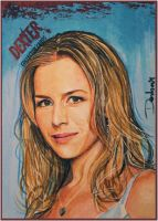 Julie Benz as Rita Bennett by DavidDeb