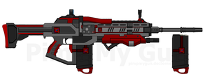 D.I.I. AR-790 'Vanquisher' (Destiny-Inspired) by Lord-DracoDraconis