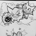 Gengar by ANDILION5356