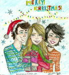 Merry Christmas by brenda--amancio