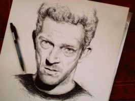 Vincent Cassel by IamLesFleurs