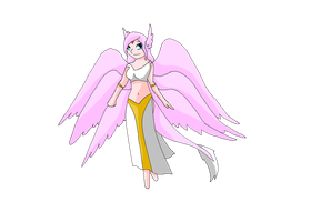 New Angelovedramon 2014 by HeroHeart001