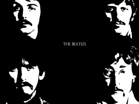 The Beatles by Twstdblckrose