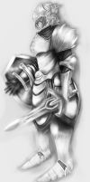 Silverplate amor by DJgame42
