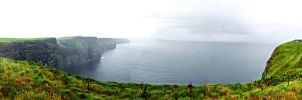 Cliffs of Moher by Lykorias