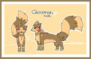 x chocomon x by Nekoshiba
