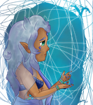 Art Trade: Water Witch by CatrinSara