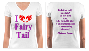Fairy Tail T-Shirt Design by returntowonderland