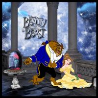 Beauty and the Beast Cover Art by KelseyTroberg