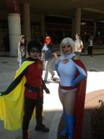 Megacon 2013 Power girl and robin by Oblivion-Evil