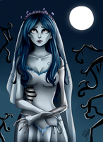 corpse bride by Nasuki100