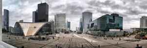La Defense panorama by Chaindler