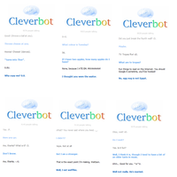 Fun with Cleverbot by Shadow-Rukario