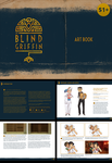 The Blind Griffin: Art Book by Auro-Cyanide