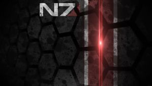 Mass Effect N7 Wallpaper HD by solidcell