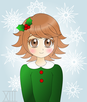 Christmas Cheer with Chihiro~ by Lilyshade13