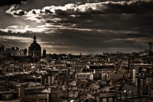 Paris - Landscape by 3lRem