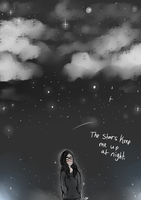 The night sky by MiMiLovesTacoes