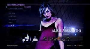 Alice in Resident Evil 6 by RPGxplay