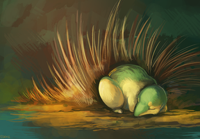 150+ project: cyndaquil by edface