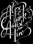 Artist for Hire - Typography by LexxieLizzie
