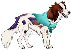 Dog character for sale! by Psittaca