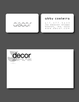DECOR business card by Dec0