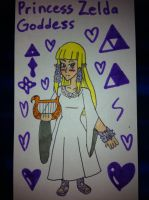 Goddess Princess Zelda by airbornewife71