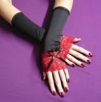 Gothic Lolita Arm Warmers by Estylissimo