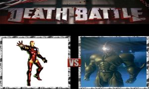 DEATH BATTLE Idea Iron Man vs Guyver by JefimusPrime