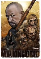 Morgan-Walking-Dead by ted1air
