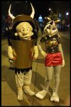 2013 Elmer Fudd and Bugs Bunny by Halloweeners