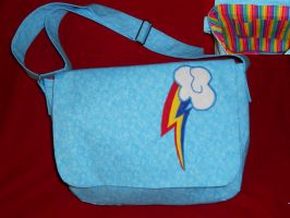 Rainbow Dash Messenger Bag by Hop-is-my-Hero